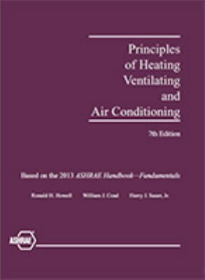 Principles of heating ventilating and air conditioning, 7th edition